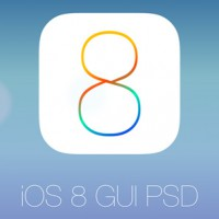 PSD интерфейса IOS 8