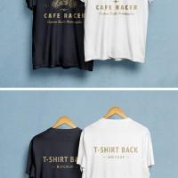 Макет для презентации дизайна футболки. T-Shirt MockUp PSD