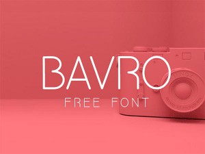 bavro-free-font